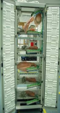 ארון עם בידוד אקוסטי תוצרת חב' אלכסנדרשניידר