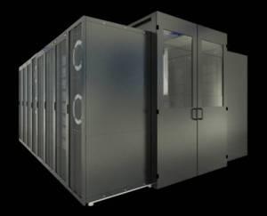 מודול ( POD ) המכיל ארונות שרתים, תקשורת וכבילה, מיזוג אוויר ו PDU.