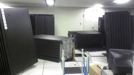 datacenter after earthquake